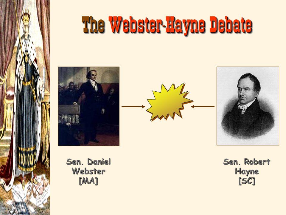 Sen. Daniel Webster [MA]